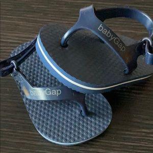 Baby Gap First Flip Flops sz 0-3 mo